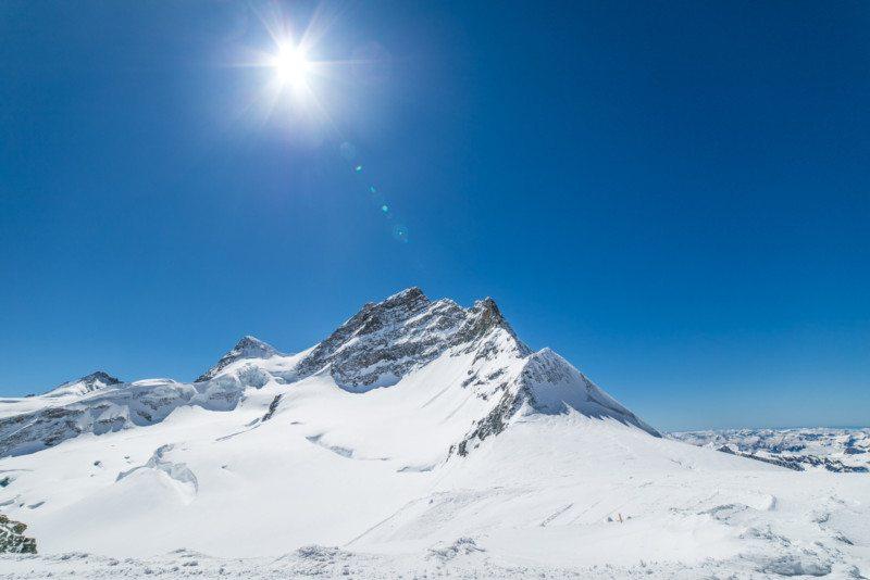 Jungfrau em Interlaken