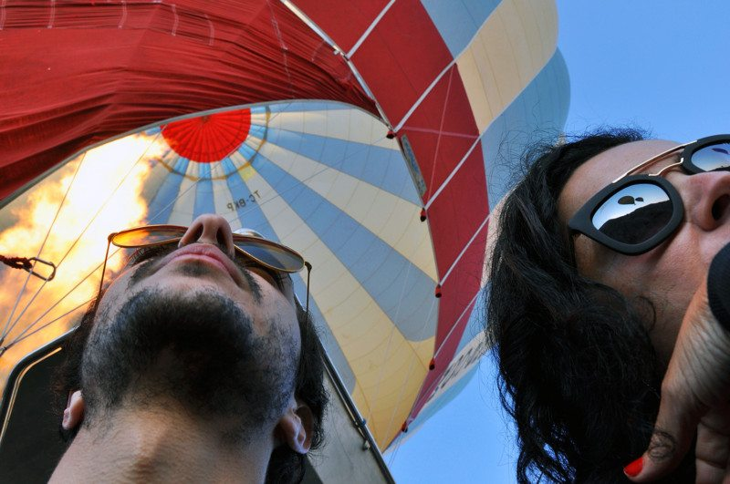 voo de balão na capadócia