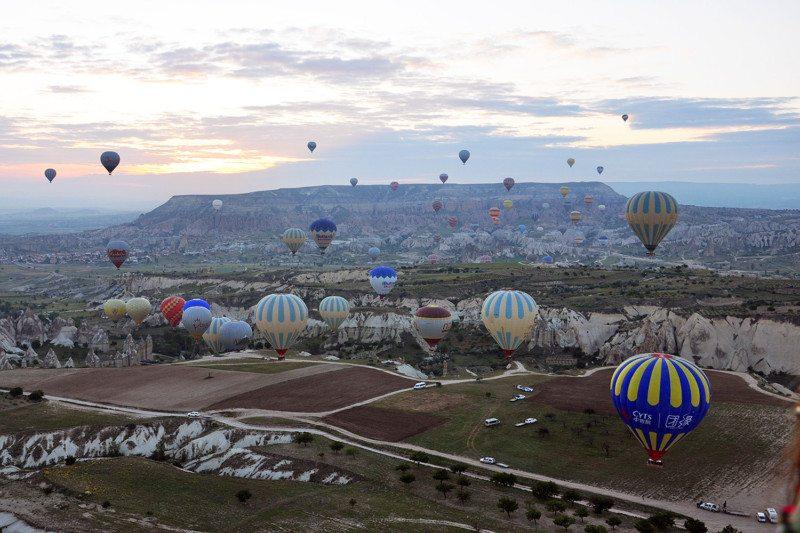 Embarque imediato – Voo de balão na Capadócia