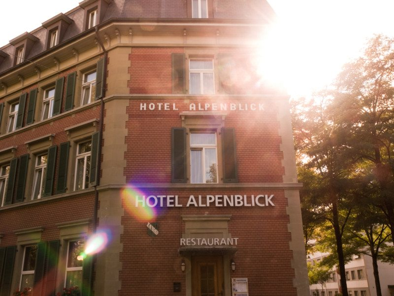 Onde ficar em Berna, na Suíça: Hotel Alpenblick