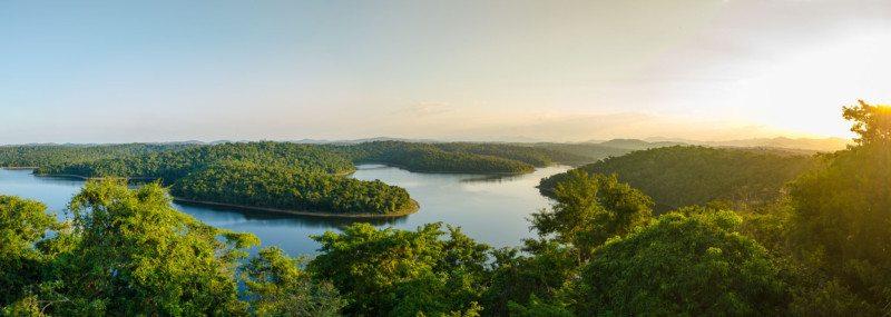 parque estadual do rio doce em minas gerais