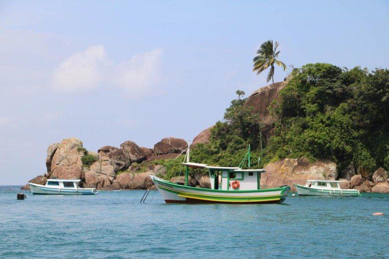 ilha grande rio de janeiro Foto: Dayana Souza