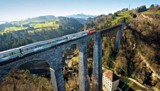 Como viajar de trem pela Suíça