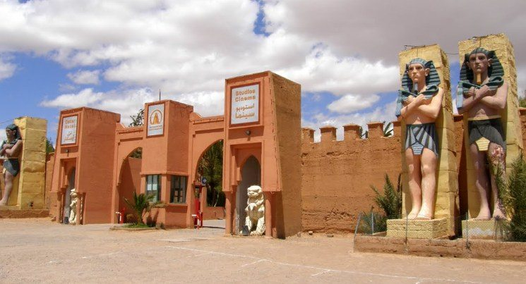 A cidade de Ouarzazate  conhecida como a Hollywood do deserto - Foto:  Clarissa Moliterno