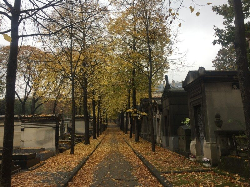 passeios alternativos em paris cemitérios Foto: Barbara Tigre