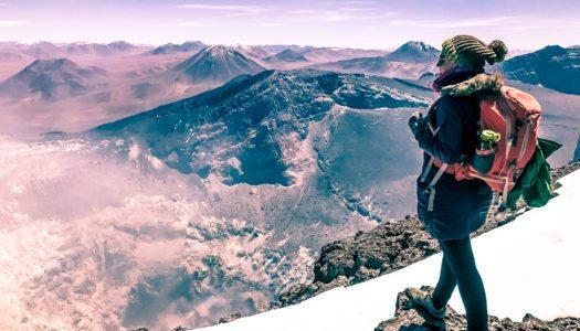 Como subir o vulcão Láscar no Deserto do Atacama