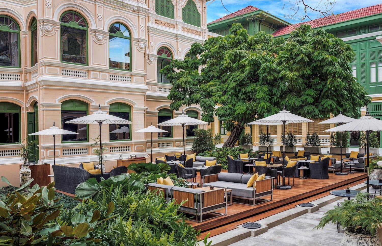 onde ficar em bangkok w hotel