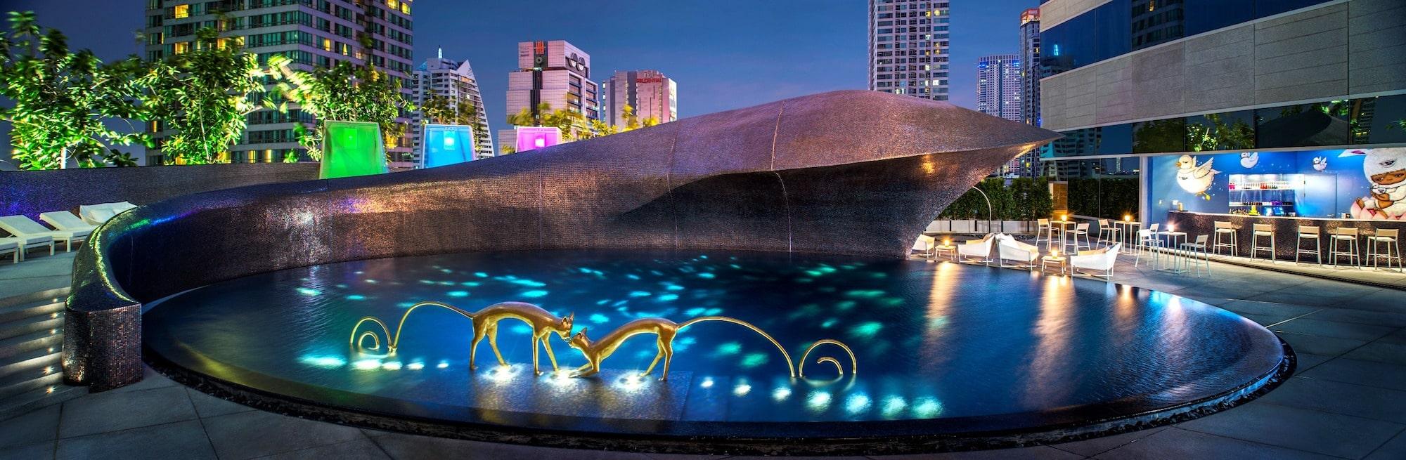 Onde ficar em bangkok w hotel dicas de viagem - Hotel bangkok piscina ...