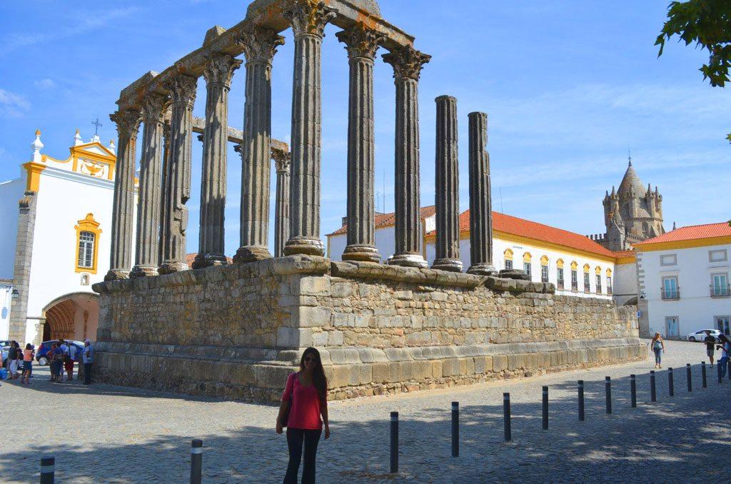 Templo da Diana, em Évora