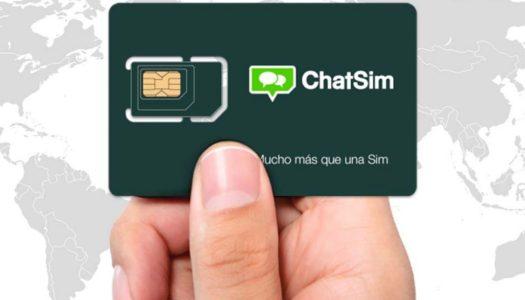 Novo chip internacional para celular tem WhatsApp ilimitado por um ano