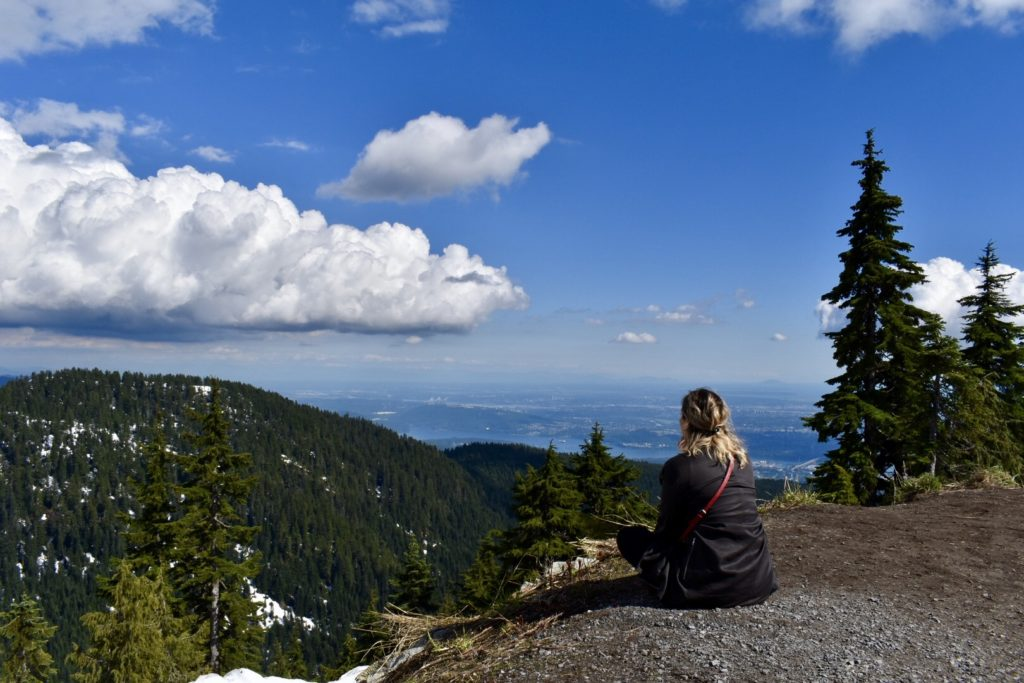 Grouse Mountain, em Vancouver. Foto: Virginia Falanghe