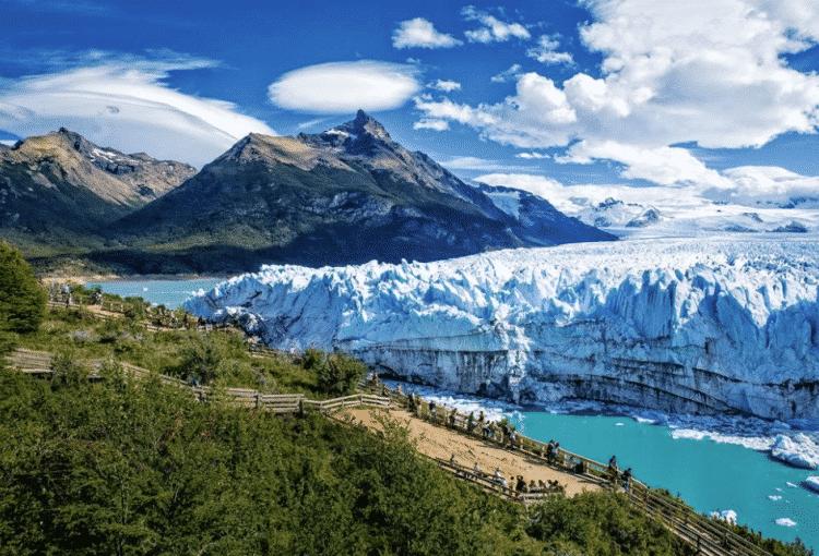 parque los glaciares na patagonia como um dos pontos turisticos argentina