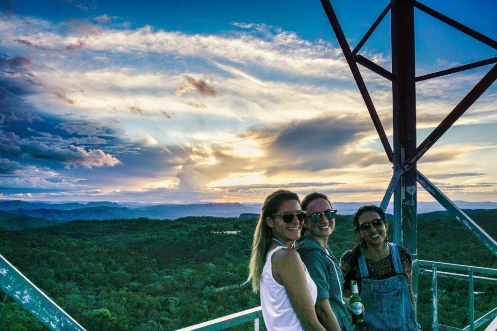 torre do por do sol na chapada dos veadeiros - Por: Pedro Ramos