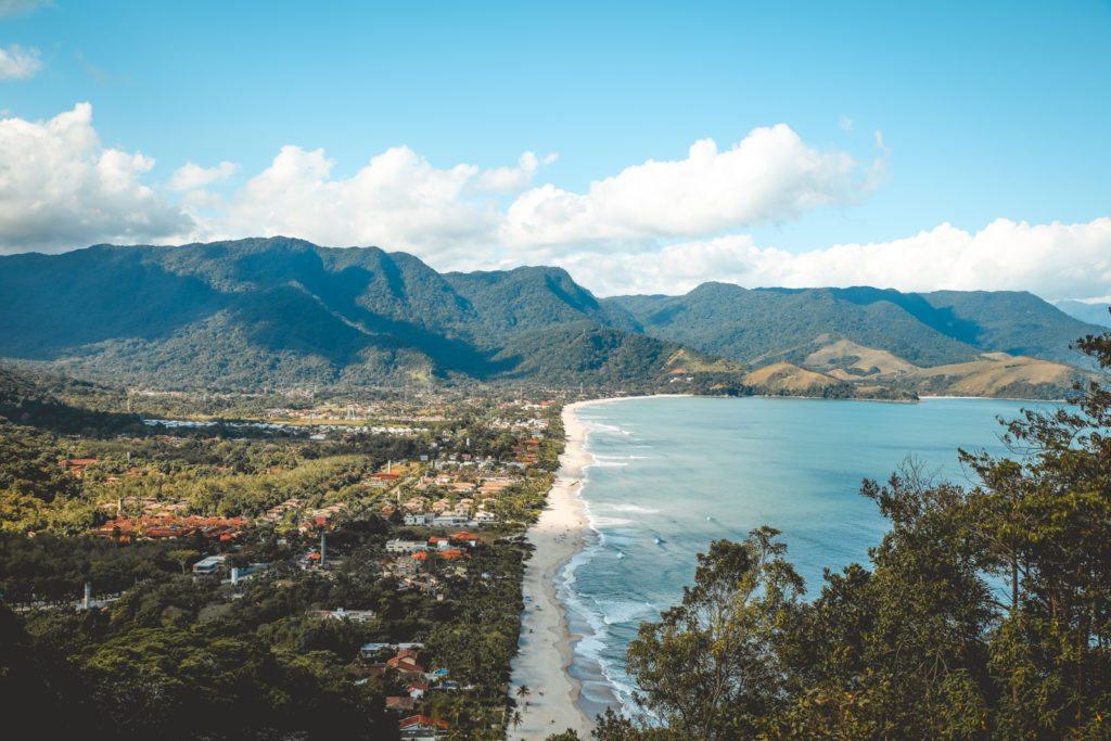 Mirante com vista para a Praia de Maresias