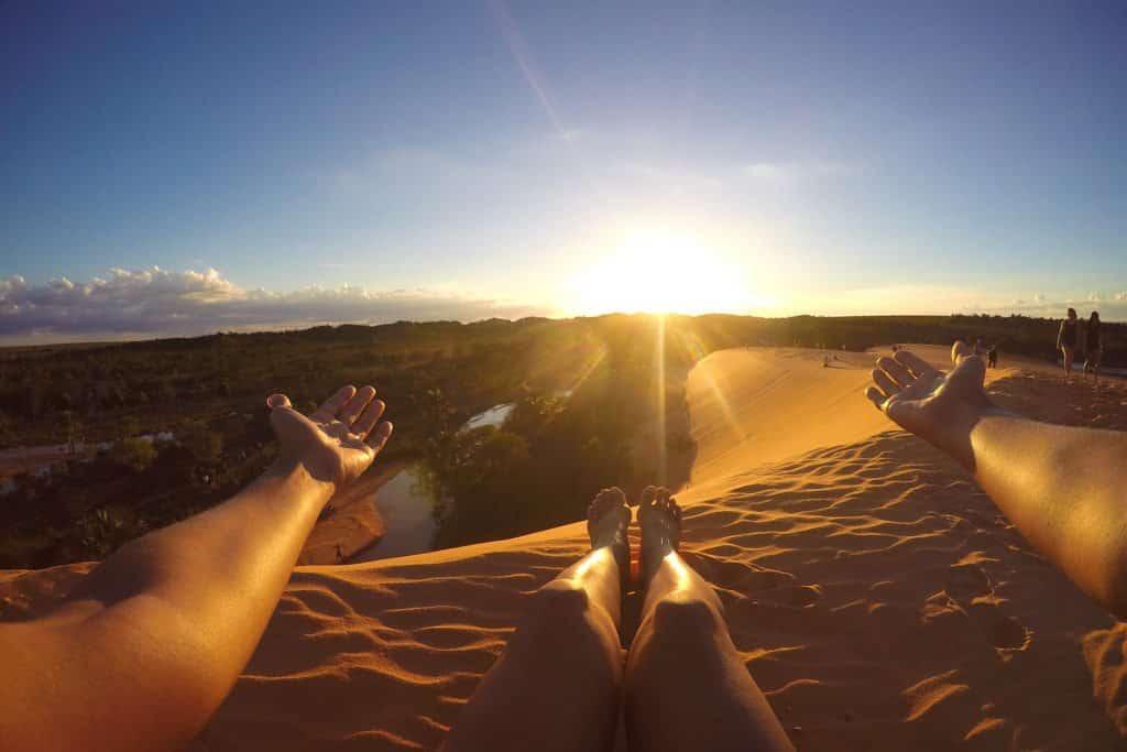 Por do sol nas dunas do Jalapão - Foto: Dayana Souza