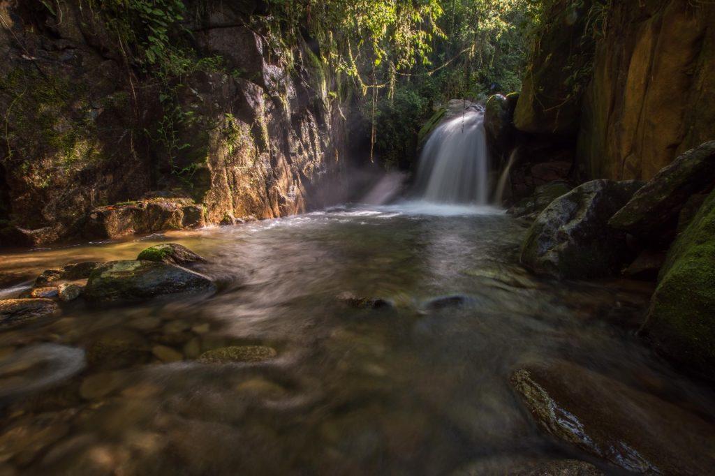 Cachoeira em Visconde de Mauá no Rio de Janeiro