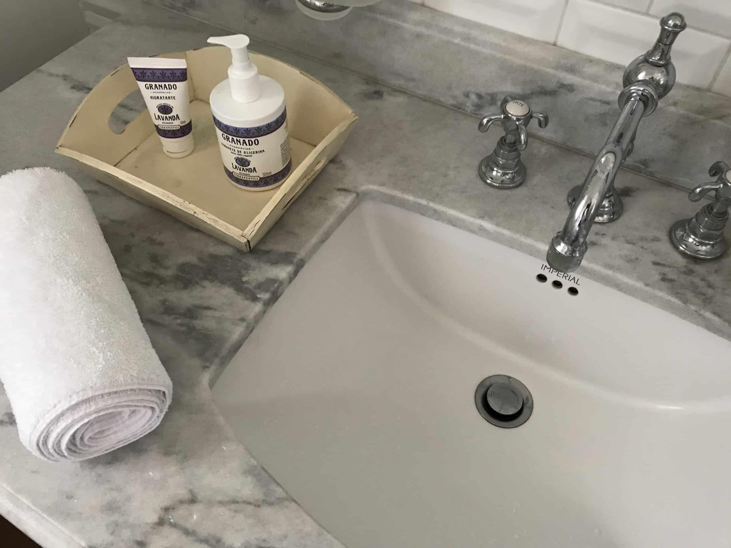 Banheiro Hotel Vila da Santa Buzios