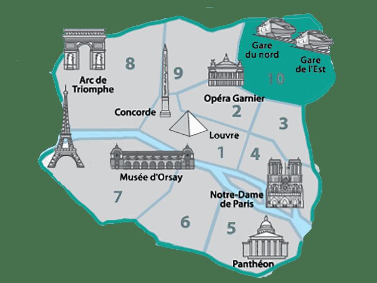 onde se hospedar em paris no 10º Arrondissement