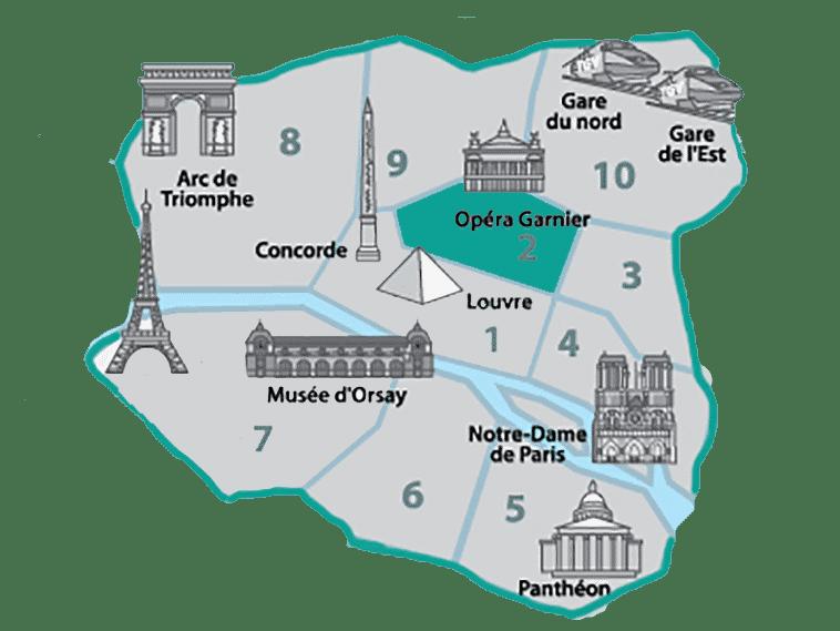 onde se hospedar em Paris - Opera Garnier