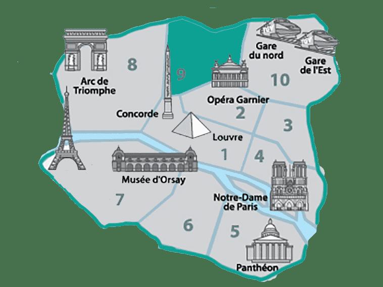 onde se hospedar em paris na região de saint lazare