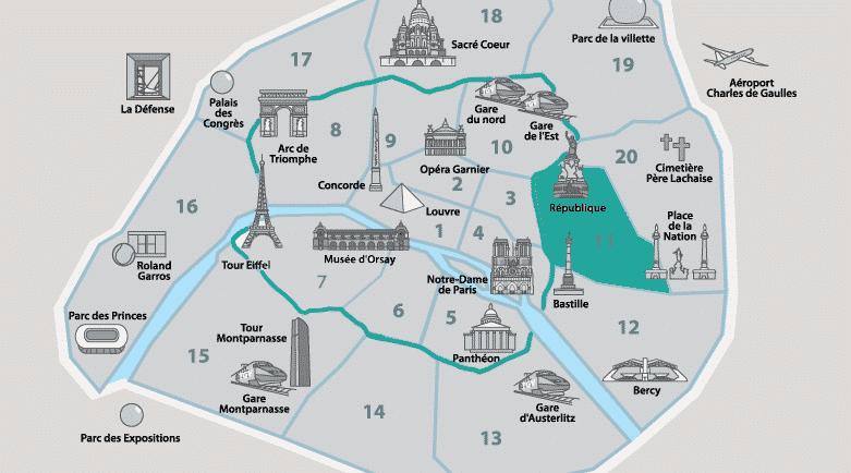11º arrondissement - République