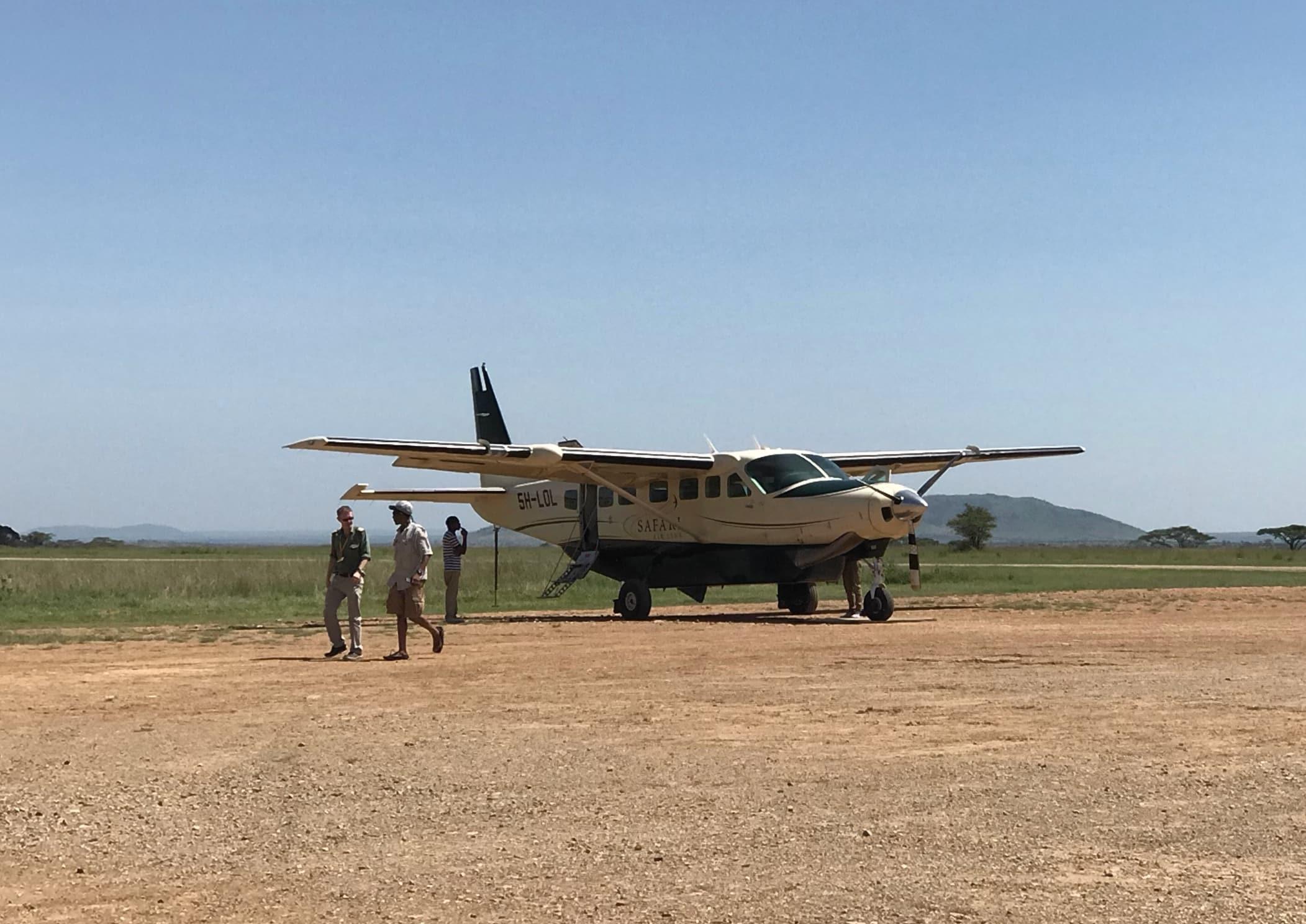 Aeronave do trecho entre Arusha e Seronera - Four Seasons Serengeti Tanzânia