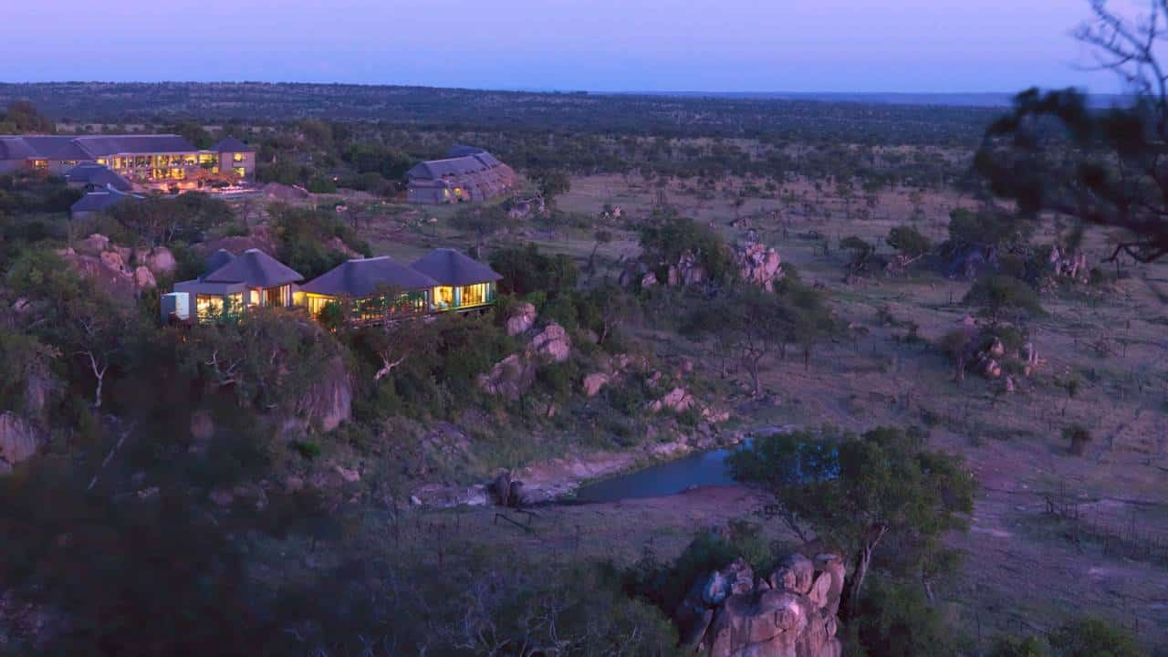 Four Seasons Serengeti Lodge na Tanzania
