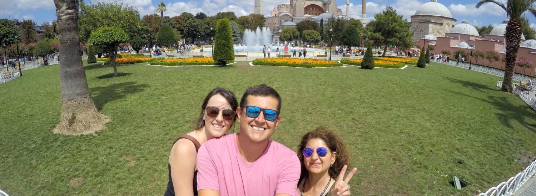 Guia em Istambul que fala Portugês