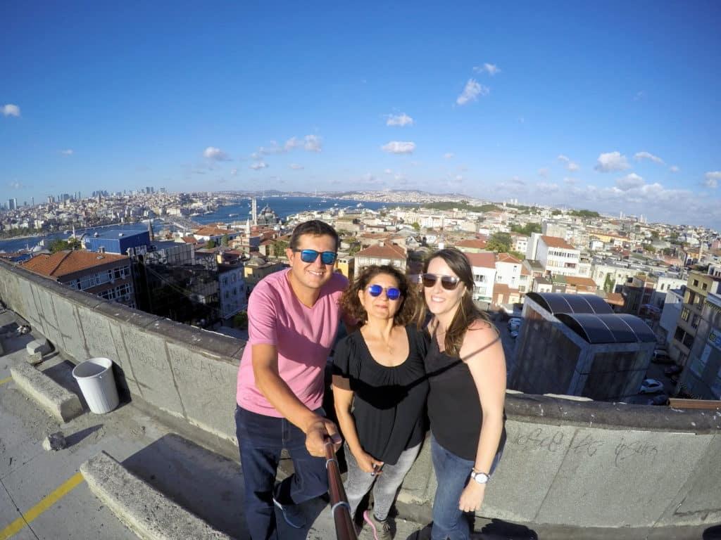 Conhecendo pontos turísticos de Istambul na Turquia com Guia em Português.