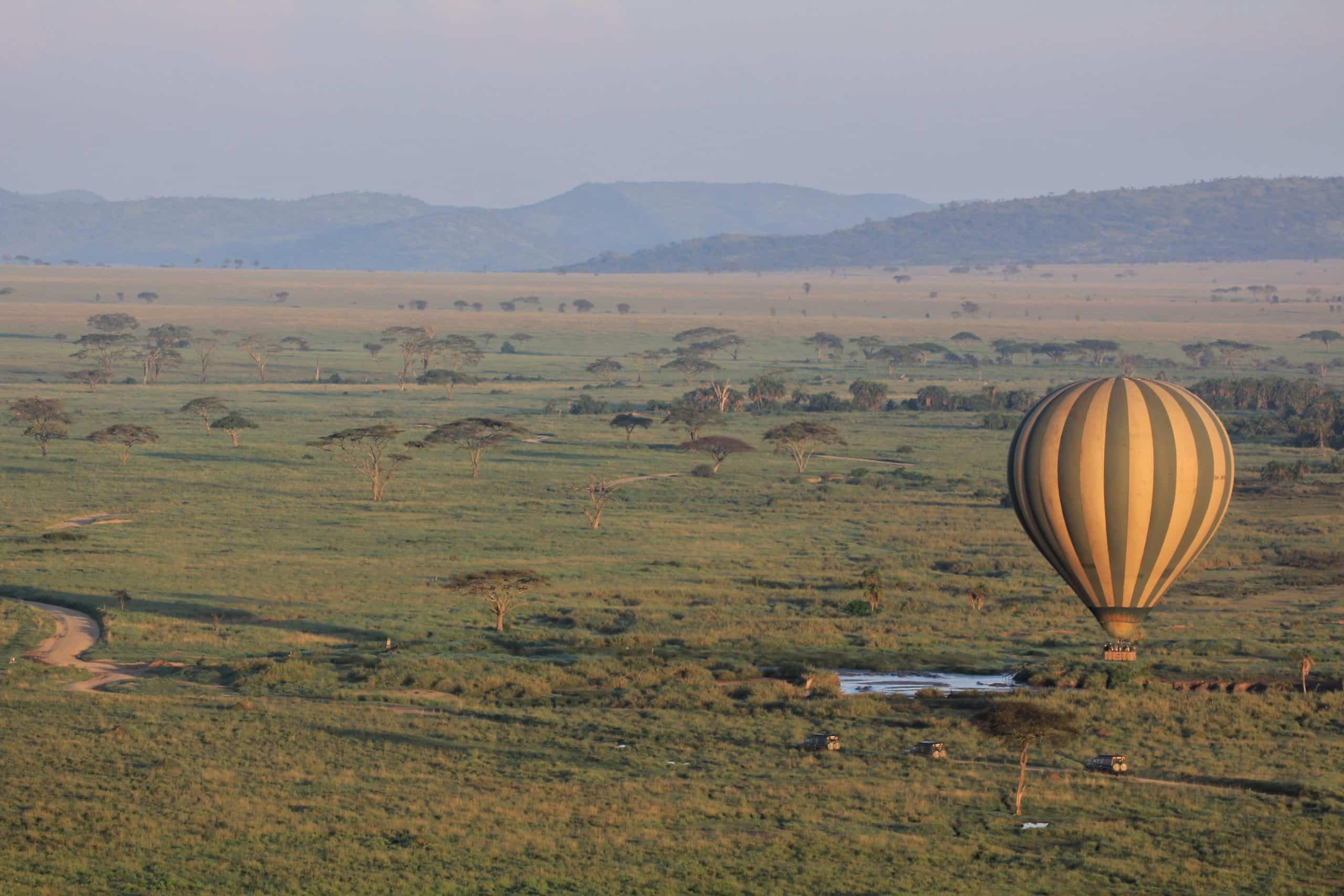 Voo de Balão no Serengeti
