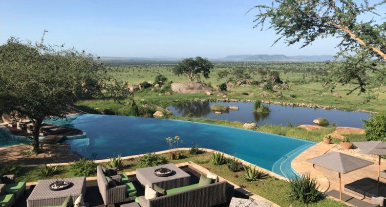 Piscina do Four Seasons Serengeti