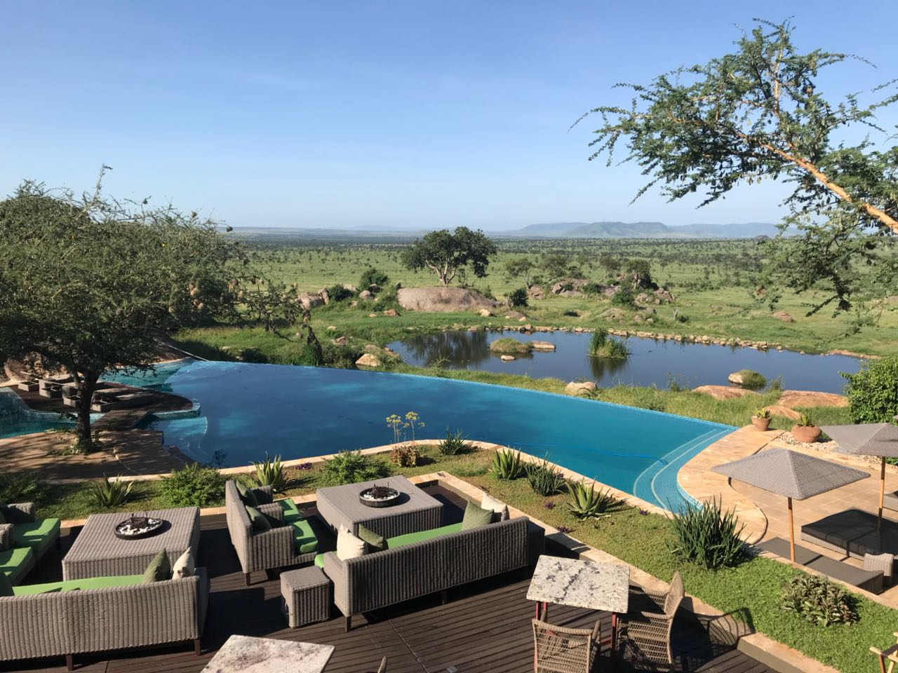 Piscina do Four Seasons Serengeti