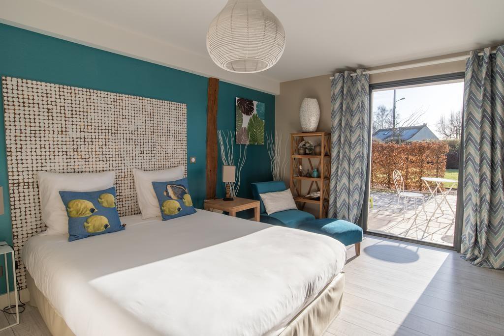 O charmoso Hotel Aux 5 Sens, uma ótima opção perto do aeroporto Beauvais-Tillé - Foto: Divulgacão
