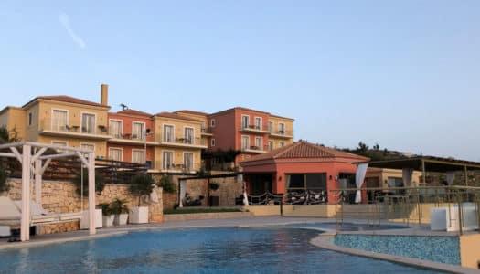 Petani Bay Hotel em Kefalonia na Grécia
