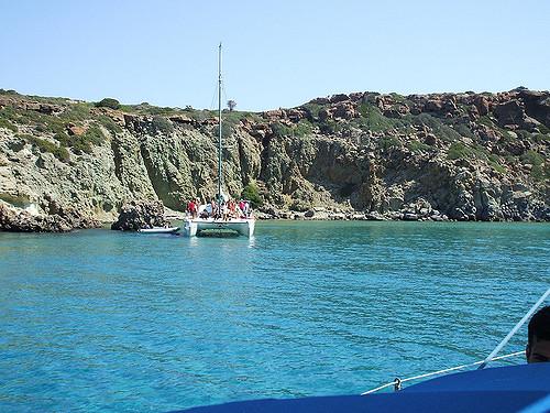 Kalogries beach, Milos, Grecia