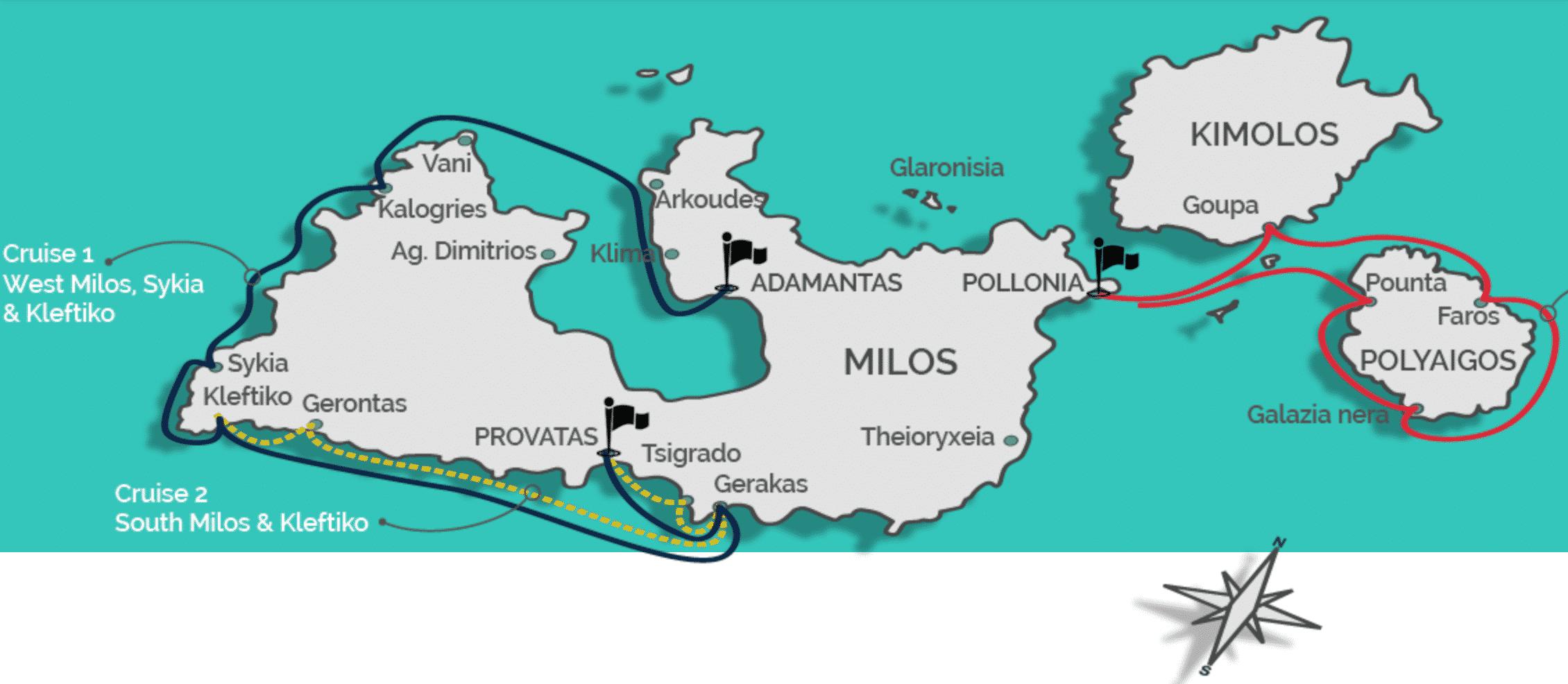 o que fazer em milos na grecia