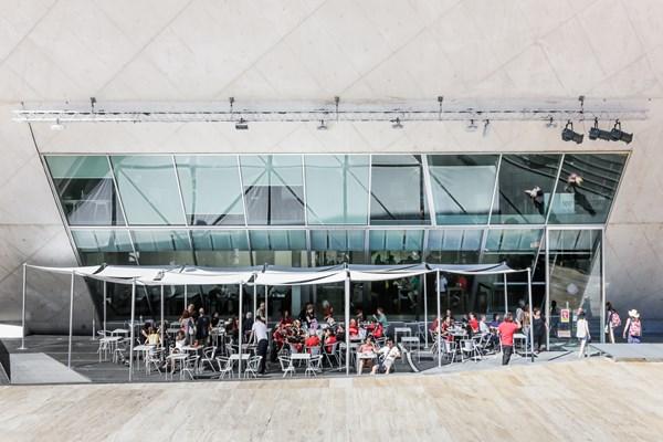 Café da Casa da Música em Porto, Portugal | Melhores Rooftops e Bares da cidade do Porto em Portugal