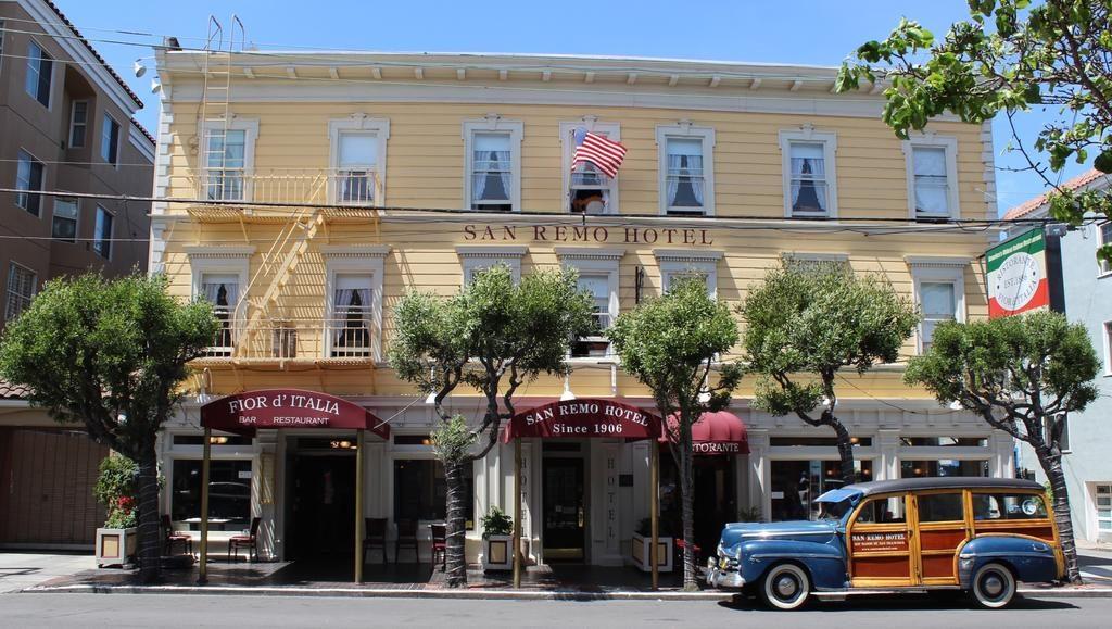 Hotel San Remo em San Francisco, um dos mais reservados com ótima localização.