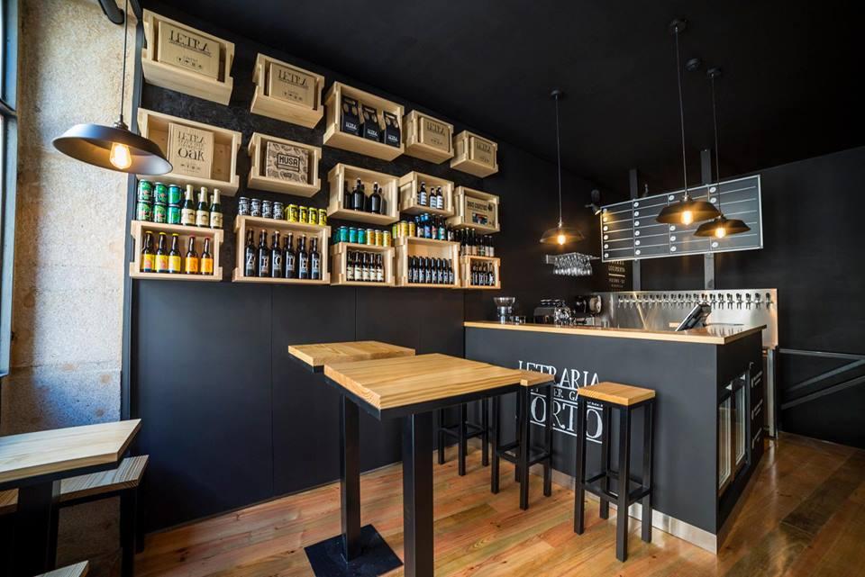 Letraria Craft Beer Garden em Porto, Portugal | Melhores Rooftops e Bares da cidade do Porto em Portugal