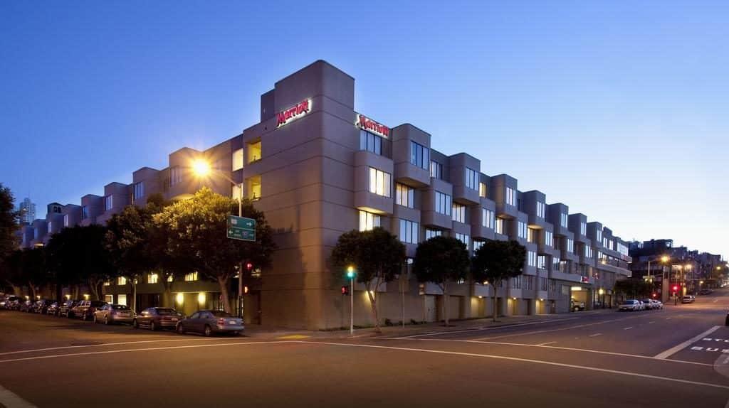 Onde ficar em São Francisco - Fachada do Marriorr