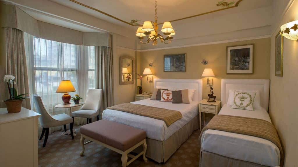 Onde se hospedar em San Francisco - Quarto no Cornell Hotel de France