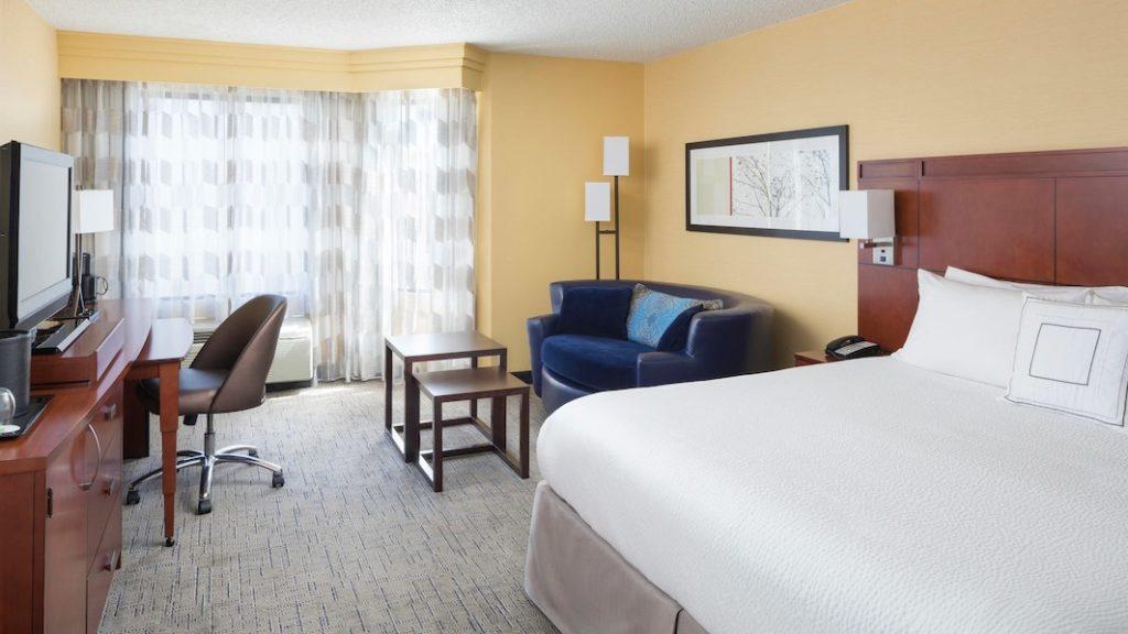 Onde ficar em São Francisco, California - quarto do Courtyard Marriott San Francisco
