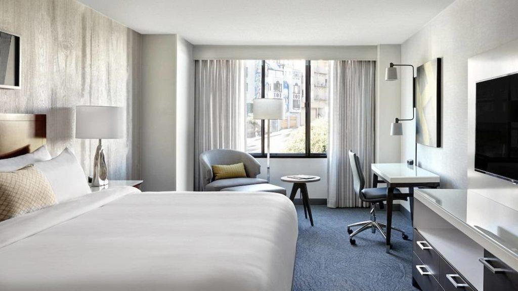 Onde ficar em São Francisco - quarto de casal hotel Marriott