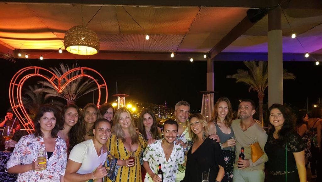 Festa em Ibiza, Balada Heart, Festa Be Crazy