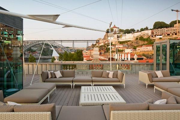 Terrace Lounge 360 em Porto, Portugal