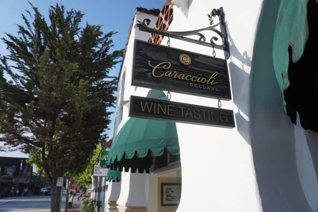 O que fazerm em Carmel, degustação vinhos