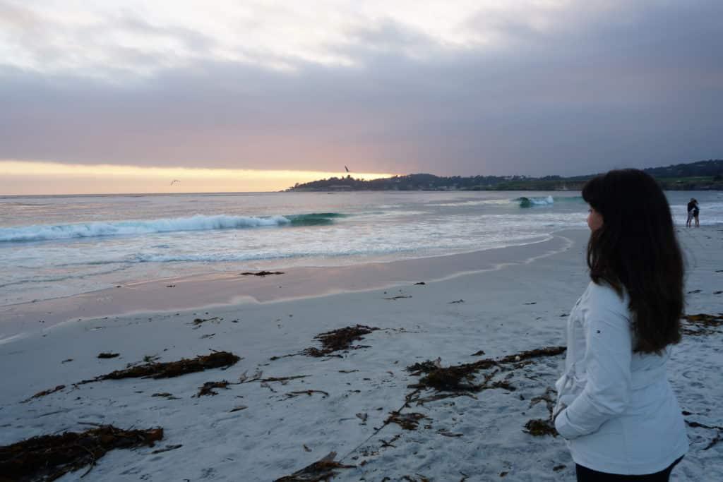 O que fazer, Carmel Beach