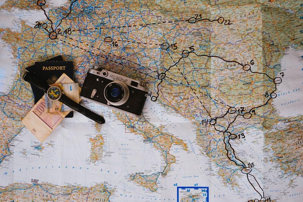 Documentos para entrar na europa