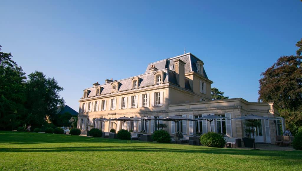 Chateau La Cheneviere - onde ficar na Normandia