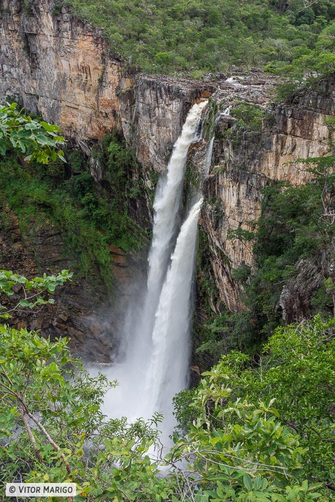 Roteiro Chapada dos Veadeiros - Cachoeira do Salto 120 metros